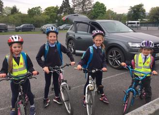 Walk/Cycle to school Week