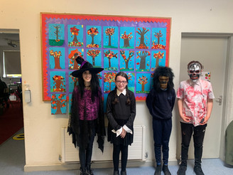 Happy Halloween from 5th class