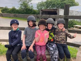 Horseriding fun