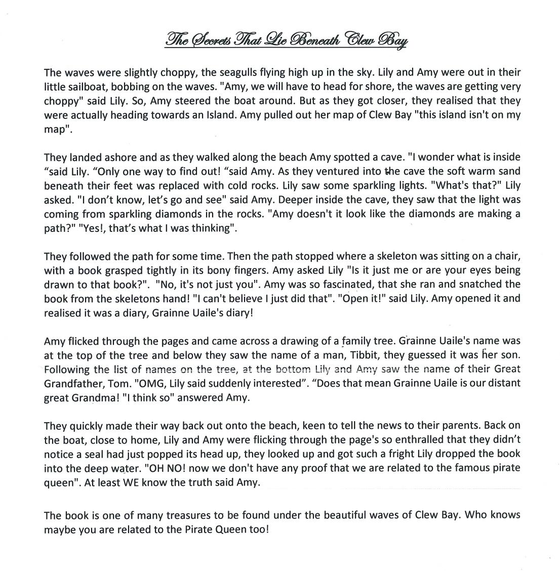 Hailey Farrell story 2018