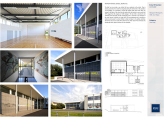 Architectural Award for School Hall