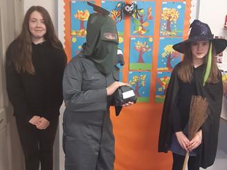 Halloween in 6th Class