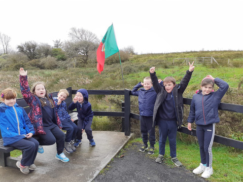 1st class cheer for Mayo