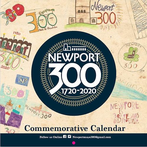 Newport Tricentenary 2020 calendar