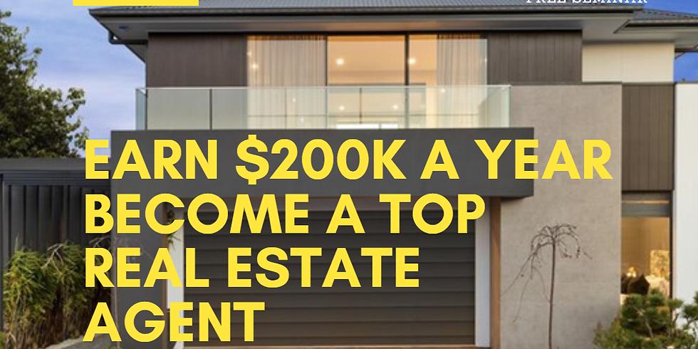 FREE SEMINAR - Earn $200K in real estate sales! (1)