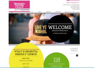 Dementia Friendly Church Website Launched