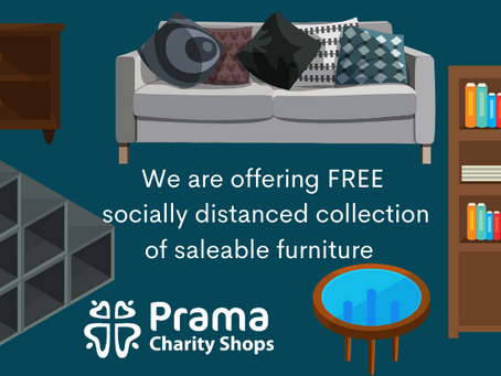 Moving online in lockdown 2.0 – Charity shops reinvented!
