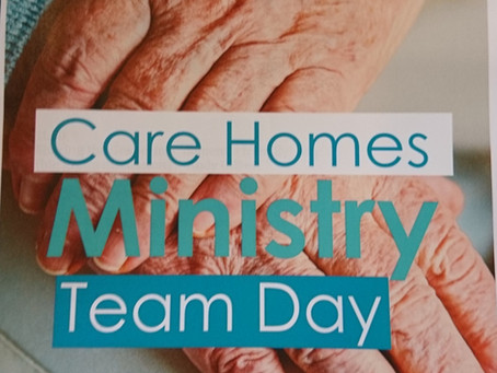 Lansdowne Church Care Home Ministry Team Training