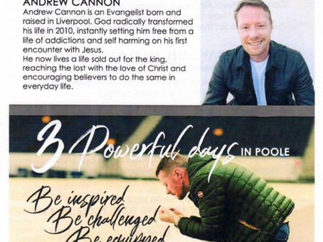 LIFE CHURCH POOLE - Andrew Cannon 23rd August