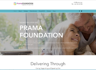 Prama Foundation Website Goes Live