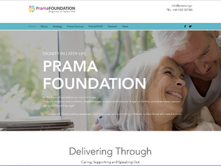 Prama Foundation Website Goes Live