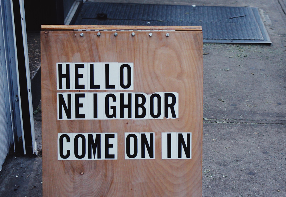 Hello Neighbor Come On In