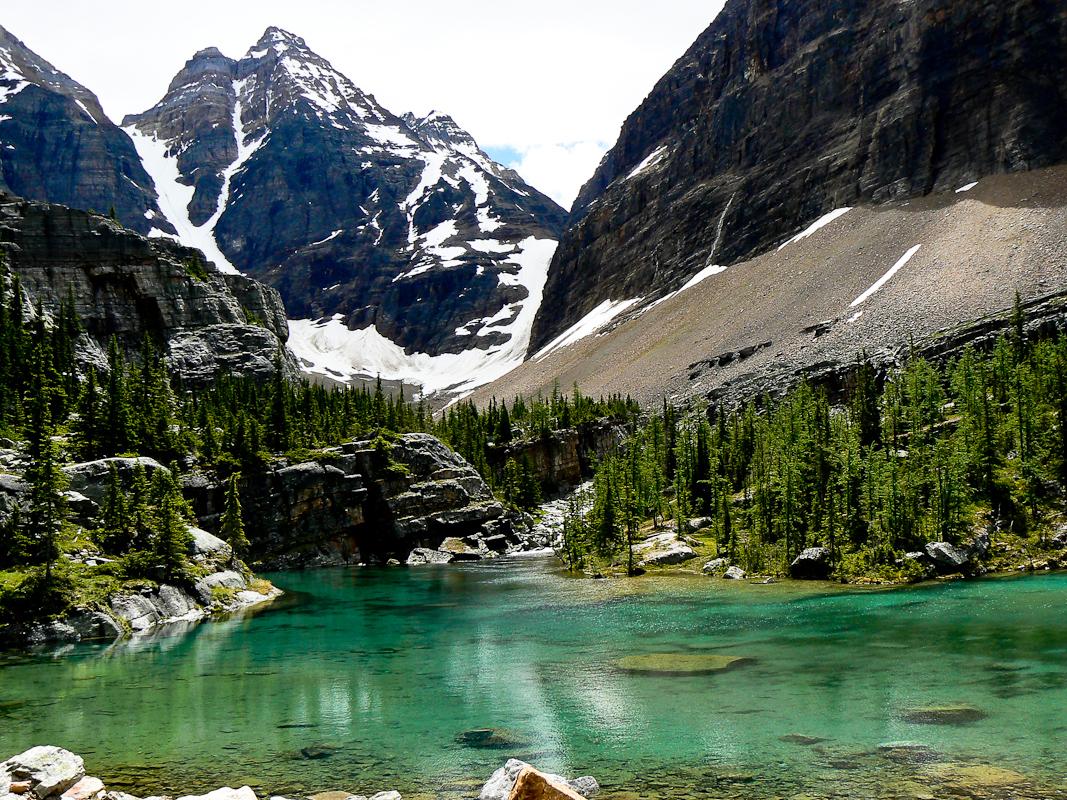 Mary Lake, Lake O'Hara guided hike