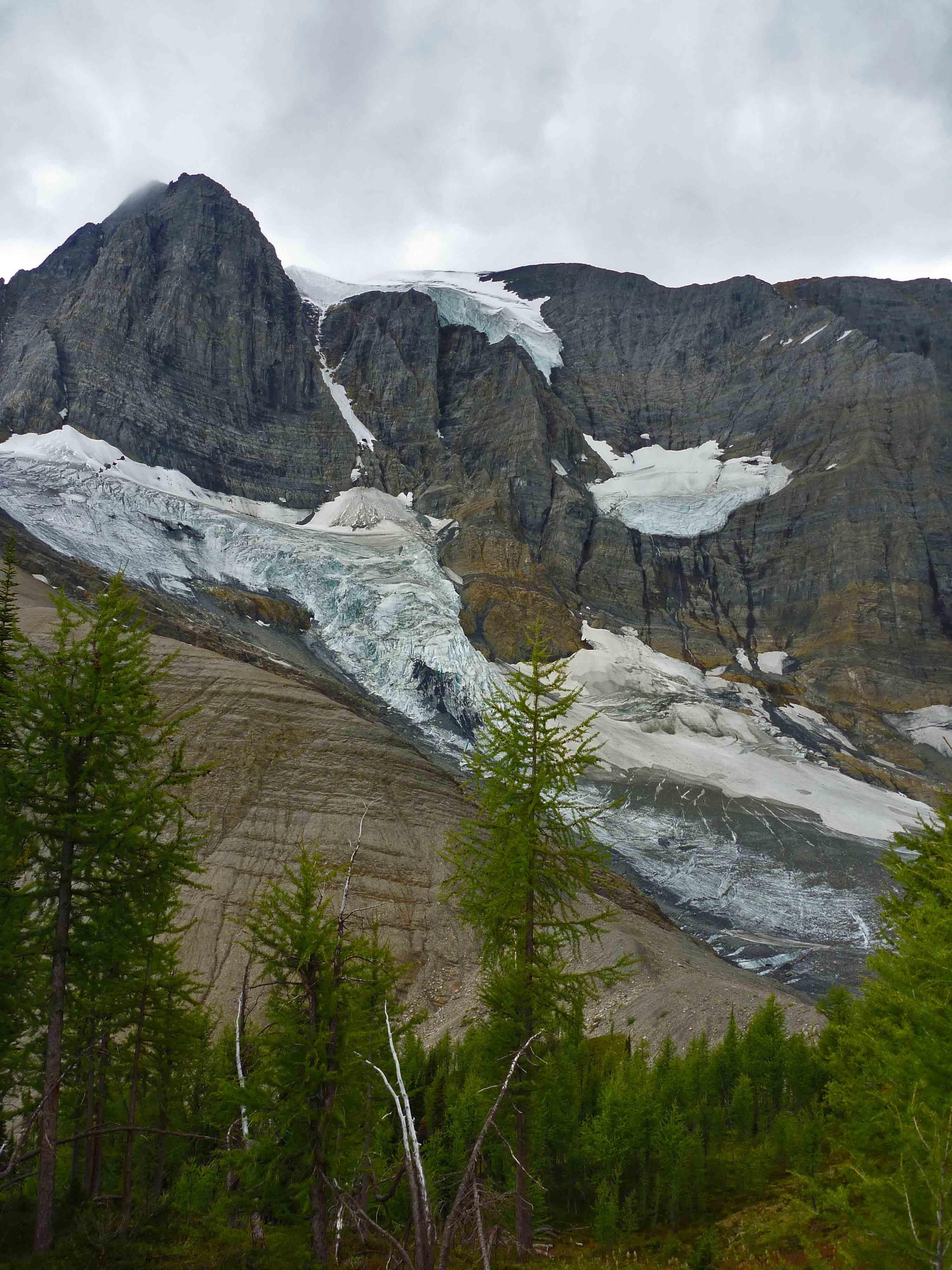 Glacier in Kootenay Nat'l Park