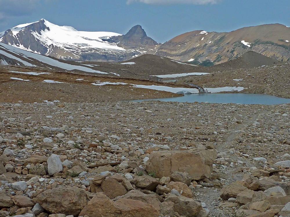 backpacking Canadian Rockies - guided trek Iceline trail