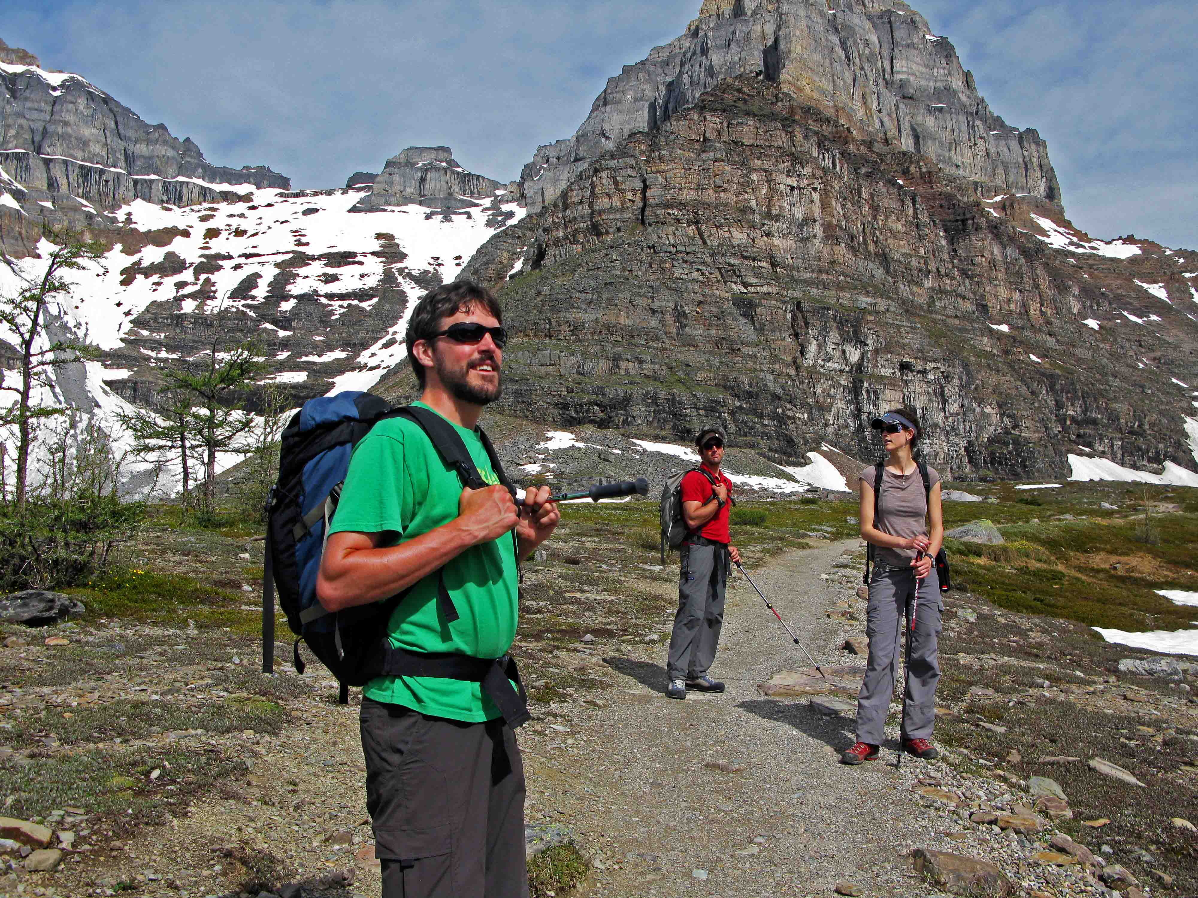 Larch valley-Lake Louise-Banff-Canadian Rockies