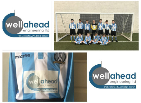 Wellahead supports local football team...