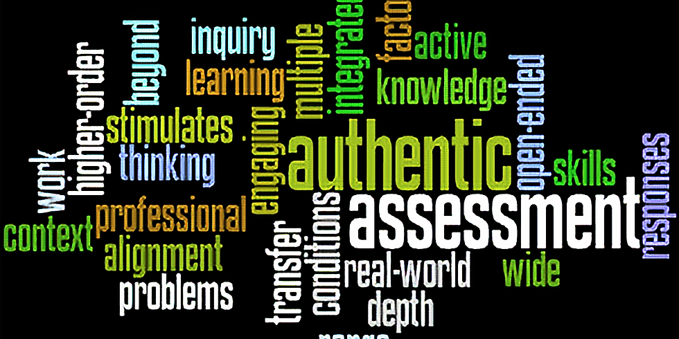 Designing Tasks for Meaningful Assessments