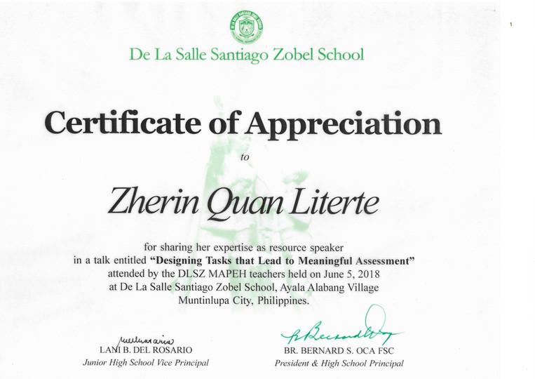 DLSZ Assessment Workshop Certificate.jpeg