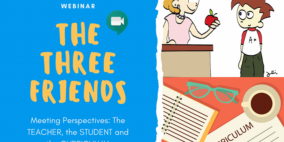 THE THREE FRIENDS: A Webinar for Teachers's Planning