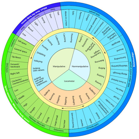 Planning, Teaching using the Movement Wheel