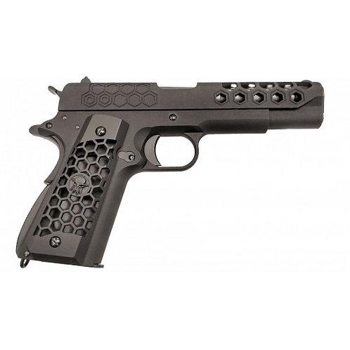 WE 1911 Hex Cut Pistol - Black