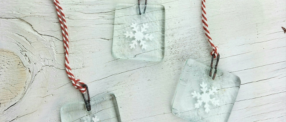Snowflake Christmas Decorations