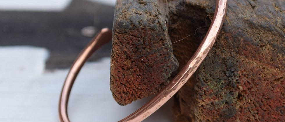 Slim Copper Bangle