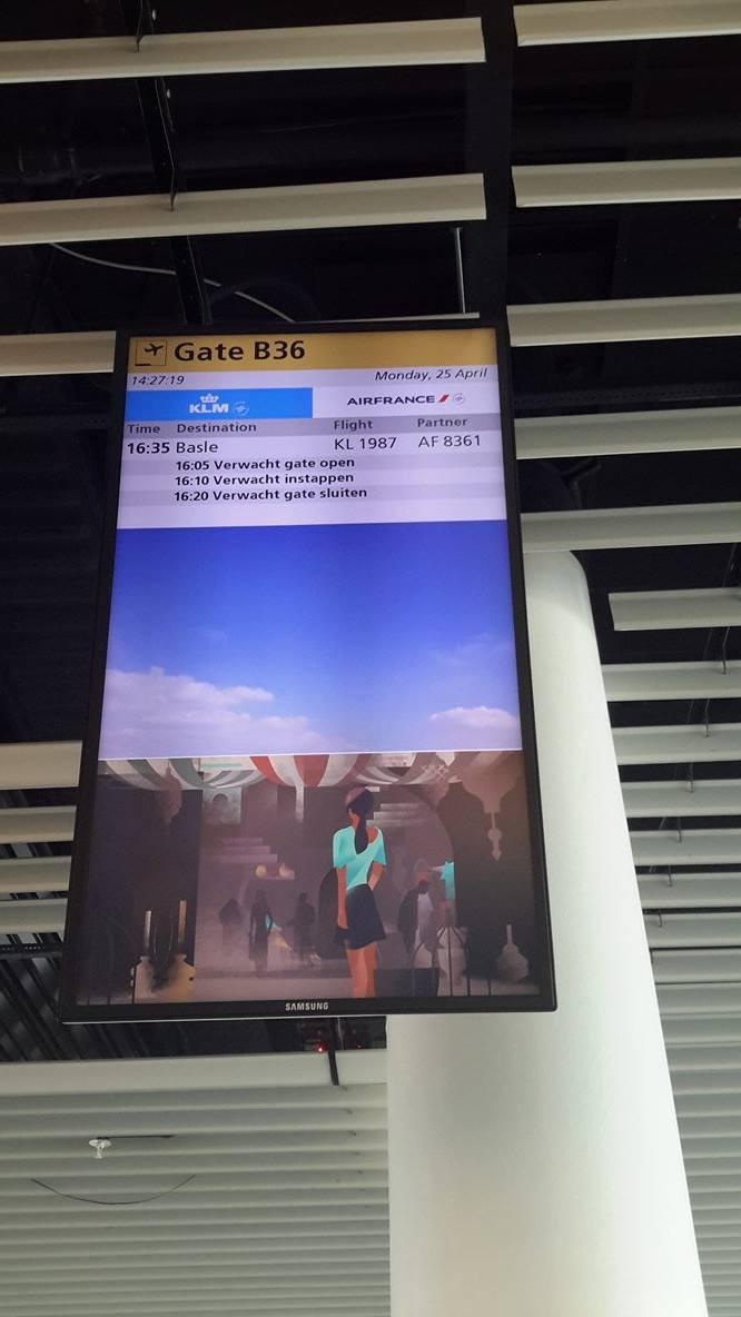 Aeroporto Amsterdam Schiphol