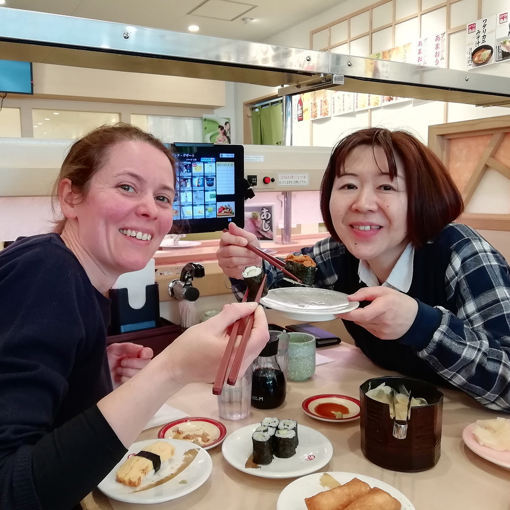 Laura & Miki in Tokyo