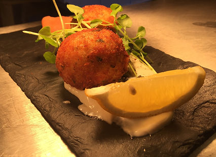 Salmon and lime fishcakes