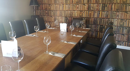 The Library private dining room