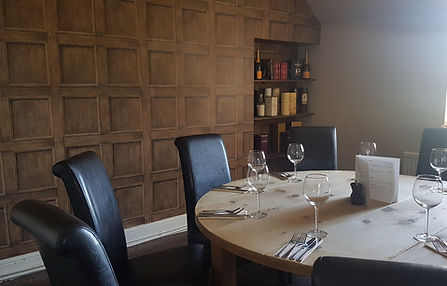 The Study private dining room