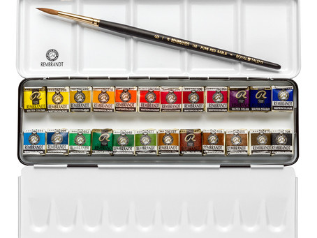 Buying Your First Professional Grade Watercolors: Here's What to Know