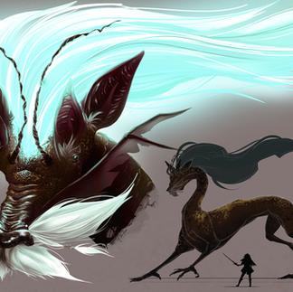 Concept Art _ Ancient Dragon