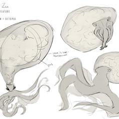 Concept Art _ Gas + Octopus