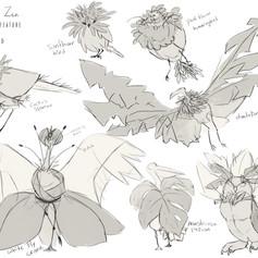 Concept Art _ Plant + Bird