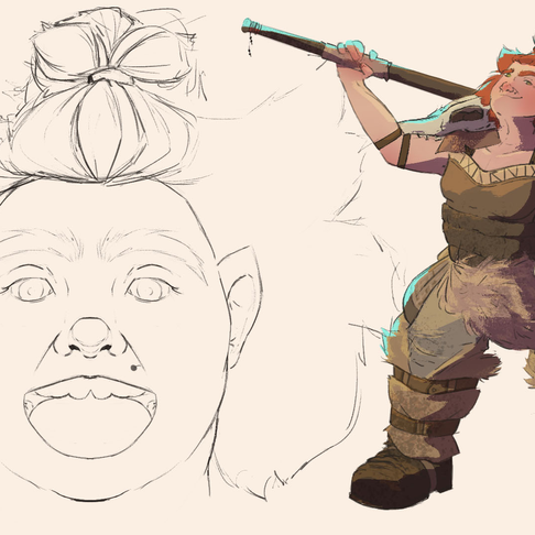 Concept Art _ Dwarf