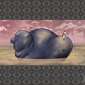 Piggy Ride   Digital