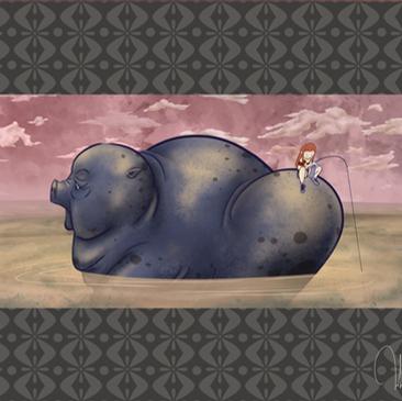 Piggy Ride | Digital