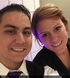 Amber and Cory Morrow