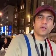 Maharishi Aazaad at Oxford Street in UK