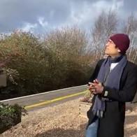 Maharishi Aazaad in United Kingdom for his movie THE GREAT PATRIOT