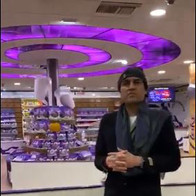 Maharishi Aazaad at Cadbury World in Birmingham, UK