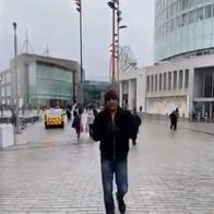 Maharishi Aazaad shoots for his movie THE GREAT PATRIOT in Birmingham, UK