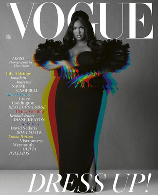 Lizzo Landed Her First British Vogue Cover and it's Good as Hell!