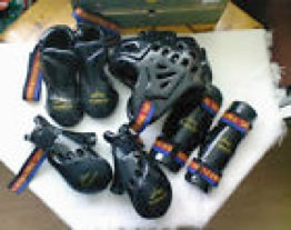 Full set of TAGB sparring gear FEMALE
