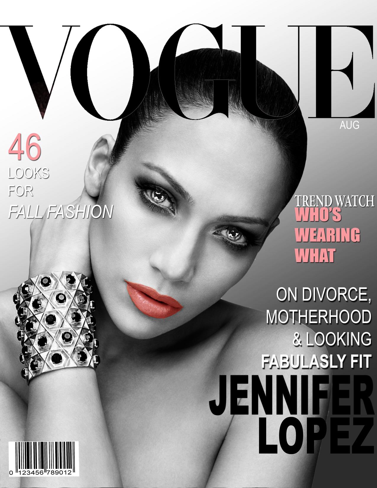 Magazine Cover Design - Cima Khademi