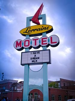 Lorraine Motel Signage