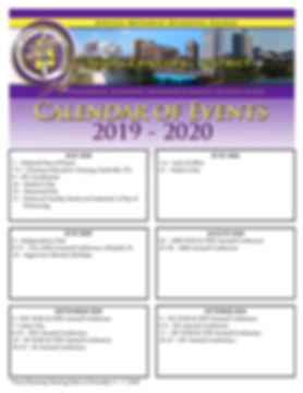 Planning Meeting Calendar 2019-2020(Revi